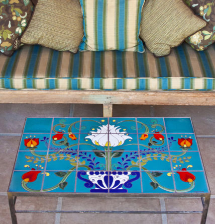 Talavera Tile Table